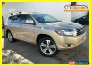 2007 Toyota Kluger GSU40R KX-S Wagon 7st 5dr Spts Auto 5sp, 2WD 3.5i [Aug] Gold for Sale